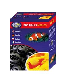 AQUA NOVA Bio kamuoliukai 32 mm filtro kasetė NBB-60