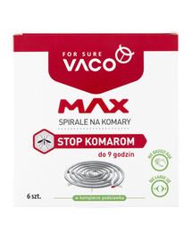 VACO VACO Ritės nuo uodų MAX 6 vnt.