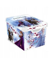 CURVER Deco Stockholm L Frozen 2 dėžutė su dangčiu Ledo Šalis 2