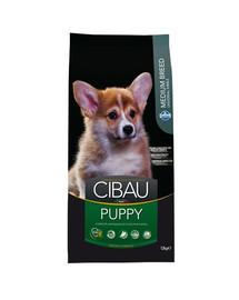 CIBAU Medium Puppy 12 + 2 kg NEMOKAMAI