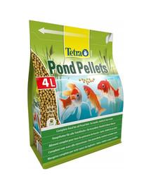 TETRA Pond Pellets 4 l pagrindinis žuvų maistas tvenkiniuose