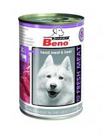 BENEK Super BENO mesa su jautiena  400 g