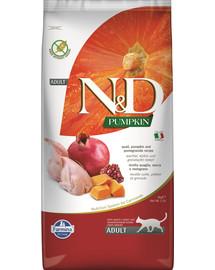 FARMINA N&D Pumpkin Cat Quail & Pomegranate 5 kg