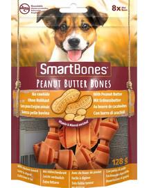 SmartBones Peanut Butter mini 8 vnt kramtukas žemės riešutų sviestas mažų veislių šunims