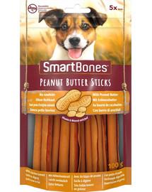 SmartBones Peanut Butter Sticks 5 vnt kramtukas žemės riešutų sviestas šunims