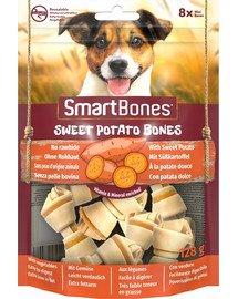 SmartBones Sweet Potato mini 8 vnt kramtukas saldžiosios bulvės mažų veislių šunims