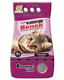 Benek Super Compact Lavender 5 l