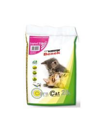 BENEK Super Benek Corn Cat kukurūzinis kraikas Tropical 25 l