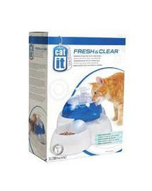 Catit Fresh & Clean vandens fontanas 3 l + dubenėlis katėms
