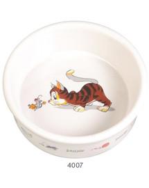 Trixie Keraminis kačių dubenėlis 0.2 l 11 cm