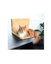 Trixie pakabinamas guolis ant radiatoriaus katėms 48 X 26 X 30 cm smėlinis