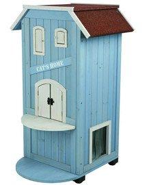Trixie namas katės 56 X 94 X 59 cm. Mėlynas