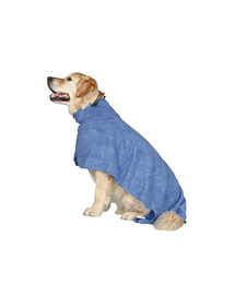 Trixie chalatas šuniui L 60 cm mėlynas