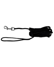 Trixie nailoninė virvė 15 m juoda