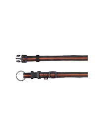 Trixie antkaklis Fusion Collar 35 – 55 cm / 20 mm juodas - oranžinis