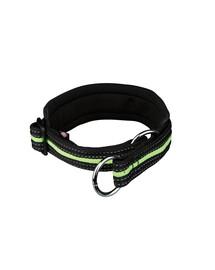 Trixie šviesą atspindintis antkaklis s-m 33–39 cm / 25 mm juodas-žalias
