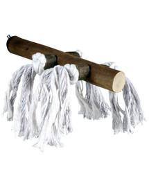 Trixie lazda su virvutėmis 20 cm