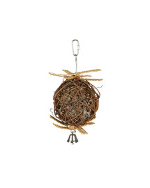 Trixie Wicker Ball With Bell 10 cm / 22 cm