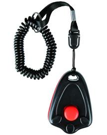 Trixie klikeris dresūrai (su mygtuku) juodas