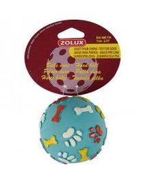 Zolux žaisliukas guminis kamuoliukas kietas 7 cm