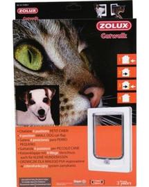 Zolux durų landa mažiems šunims Catwalk balta