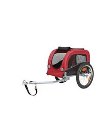 Trixie priekaba dviračiui 53 x 60 x 60 cm S raudona-juoda iki 20 kg