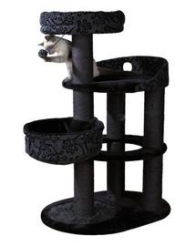 Trixie draskyklė katėms Filippo 114 cm pilka - juoda