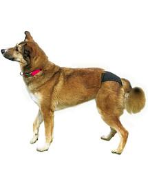 Trixie juodos apsauginės kelnaitės XL 60-70 cm