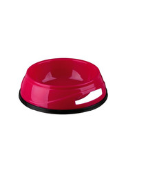 Trixie sunkus plastikinis dubenėlis su guminiu pagrindu 0.75 l /16 cm