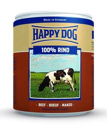 Happy Dog Rind Pur konservai šunims su jautiena 800 g