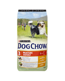 Purina Dog Chow Mature Adult 5+ vištiena 14 kg