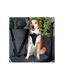 Trixie saugos diržas su petnešomis šunims ( Xl ) 80–100 cm / 25 mm
