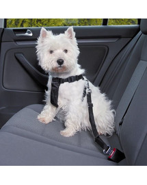 Trixie šuns saugos diržas su petnešomis S