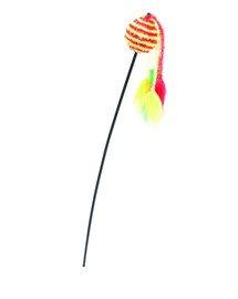 Comfy žaislas Wilma meškerė su geltonai raudonu kamuoliuku 65 cm
