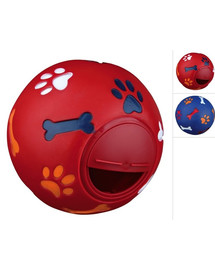 Trixie žaislas kamuoliukas su vieta skanėstui 14,5 cm