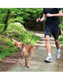 Trixie pavadėlis bėgiojimui 0.9–1.3 m su amortizatoriumi