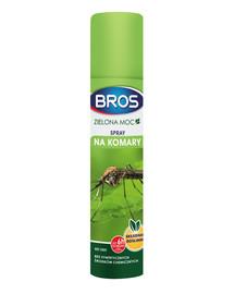 Bros Green Power Spray purškalas nuo uodų ir erkių 90 ml