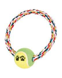 Trixie teniso kamuoliukas su virve