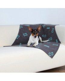 Trixie antklodė Barney 100 X 70 cm tamsiai pilka