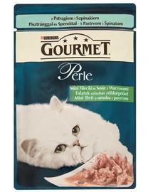 GOURMET Perle pstruh kapsa 85 g