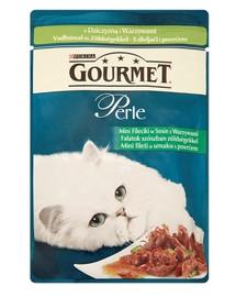 GOURMET Perle konservai su žvėriena ir daržovėmis 85 g
