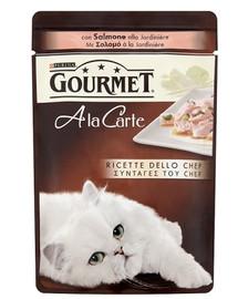 GOURMET a La Carte konservai su lašiša ir daržovėmis 85 g