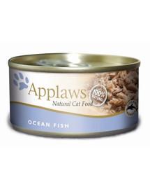 APPLAWS Skardinė vandenyno žuvų katėms 156 g