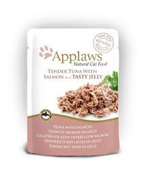 APPLAWS Tunas katėms su lašiša  70 g