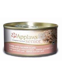 APPLAWS Vyresnioms katėms tunas su lašiša 70 g