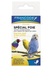 Francodex priemonė paukščių kepenims 15 ml