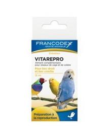 Francodex VitaRepro vitaminai paukščių vaisingumui ir reprodukcijai 15 ml