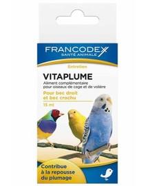 Francodex VitaPlume vitaminai paukščių plunksnoms 15 ml