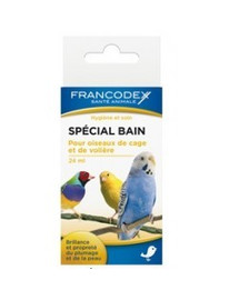 Francodex priemonė paukščiams plunksnoms valytis 24 ml