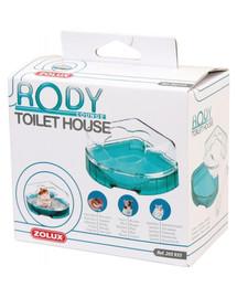 Zolux tualetas graužikams Rodylounge turkio spalvos